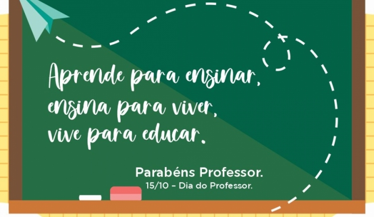 PARABÉNS A TODOS OS PROFESSORES